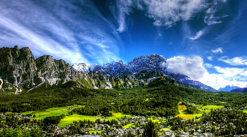 dove andare in vacanza in montagna in italia in inverno e