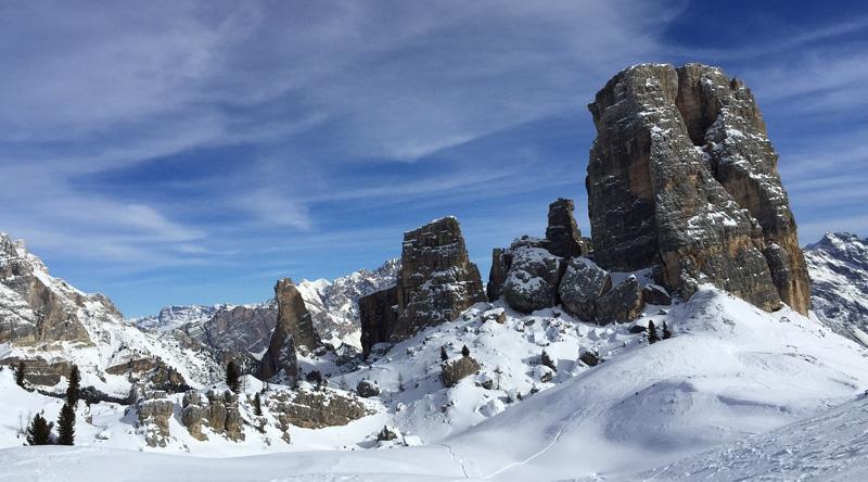 Mantagna Italia Inverno Cortina