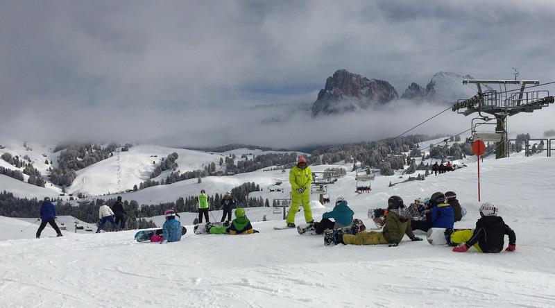 Settimana Bianca Italia snowboarder